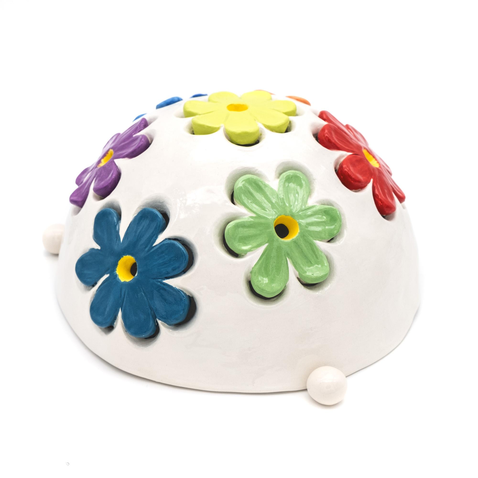 Lampade in ceramica smaltata - Stefania Mairano Creazioni in Ceramica