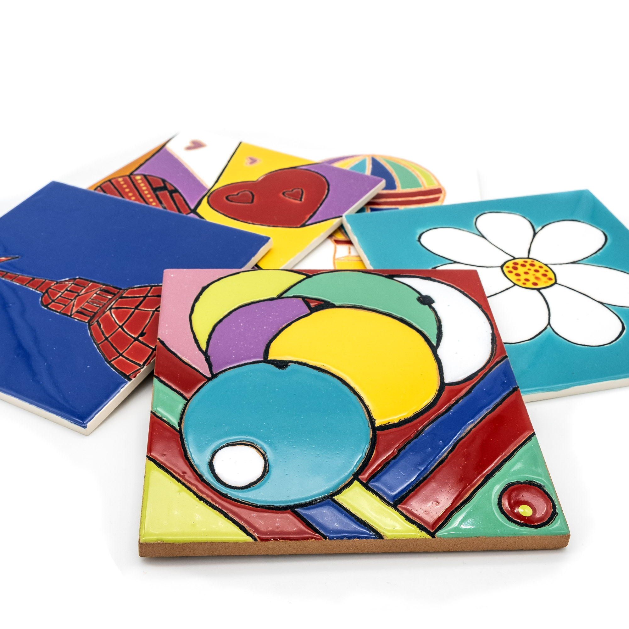 Piastrelle in Ceramica - Stefania Mairano Creazioni in Ceramica