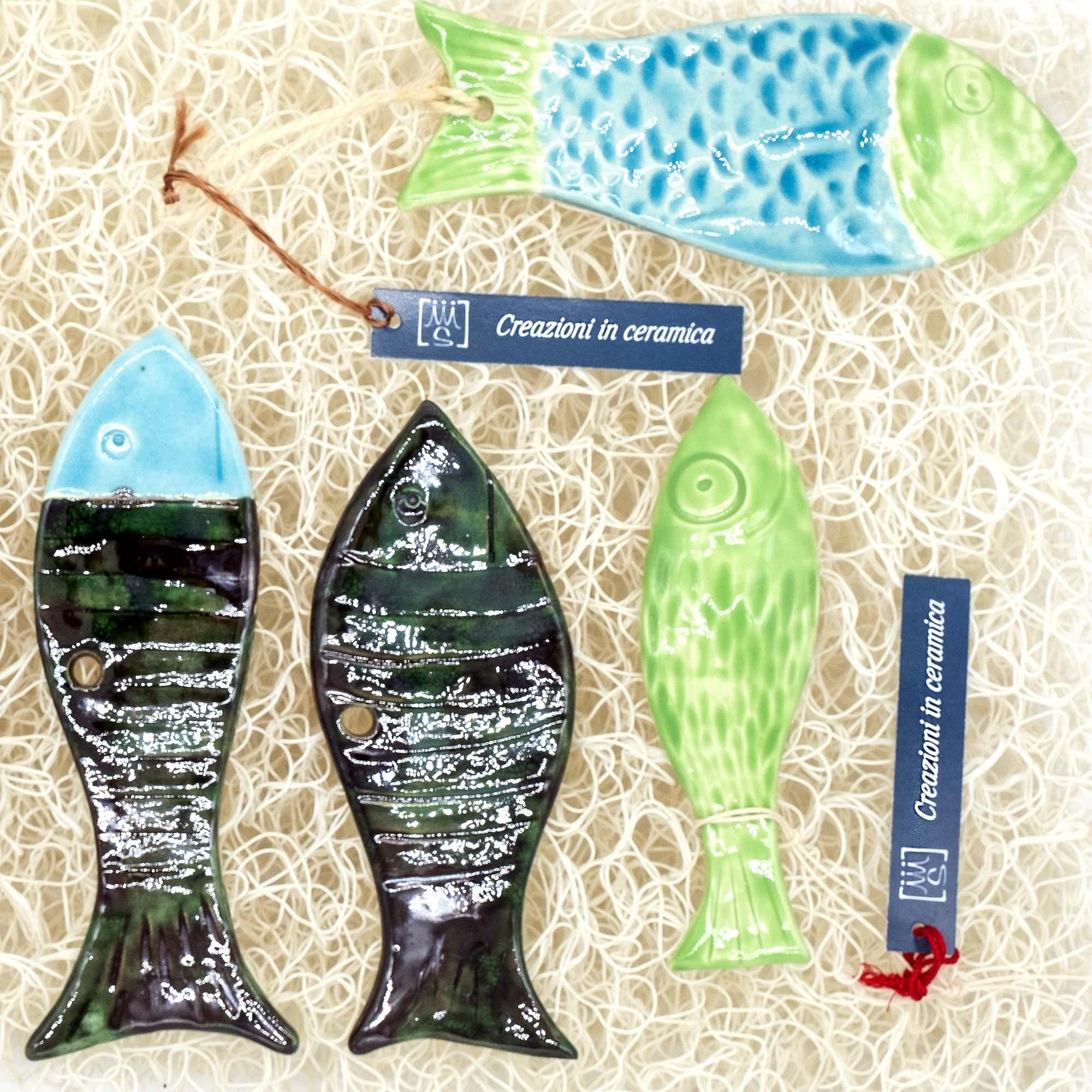 Pesci in ceramica - Stefania Mairano Creazioni in Ceramica