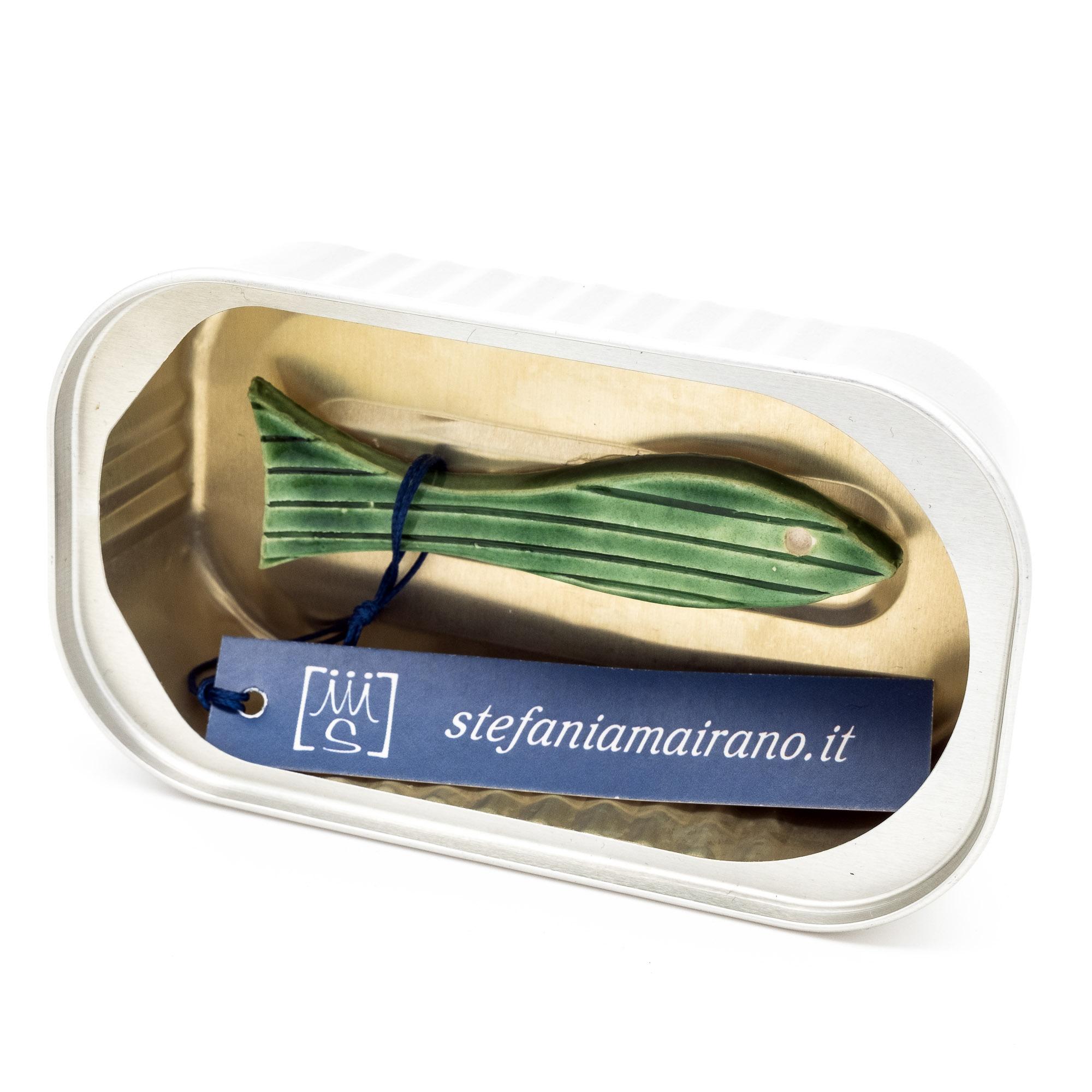 Pesci in scatola - Stefania Mairano Creazioni in Ceramica