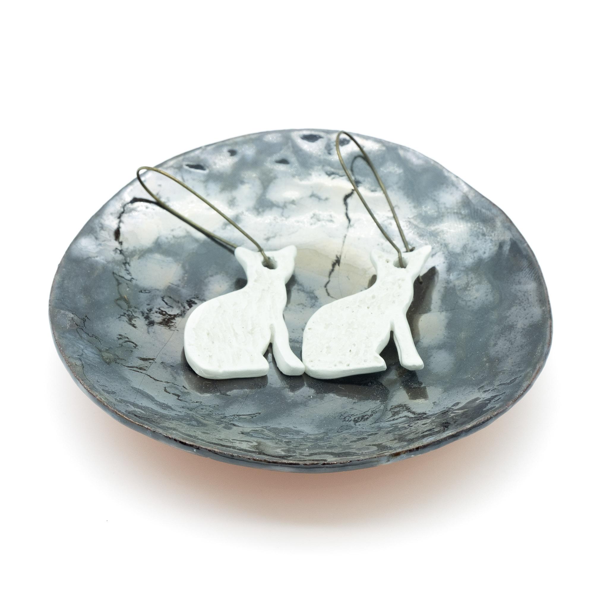 Orecchini in ceramica - Stefania Mairano Creazioni in Ceramica
