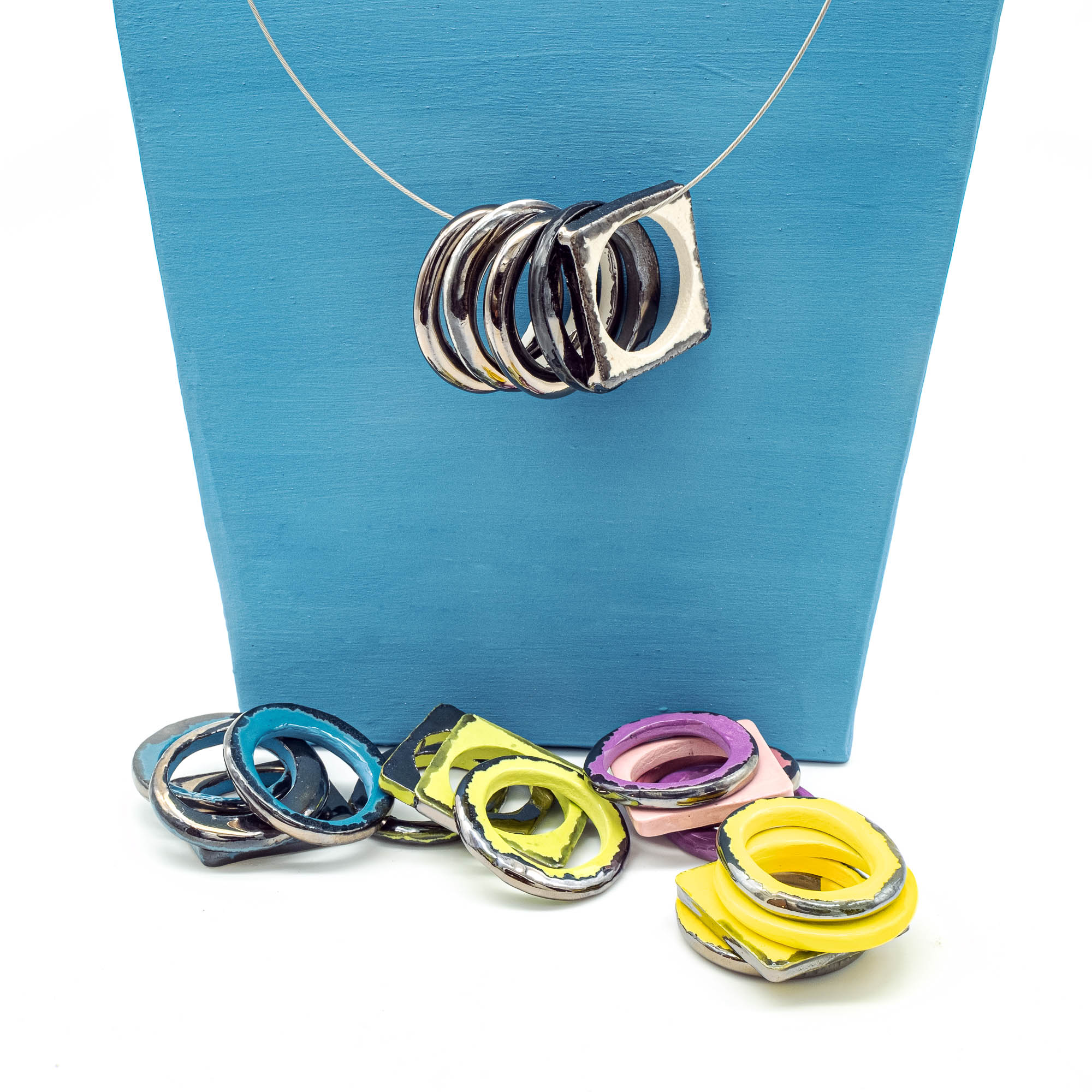 Collane in ceramica - Stefania Mairano Creazioni in Ceramica