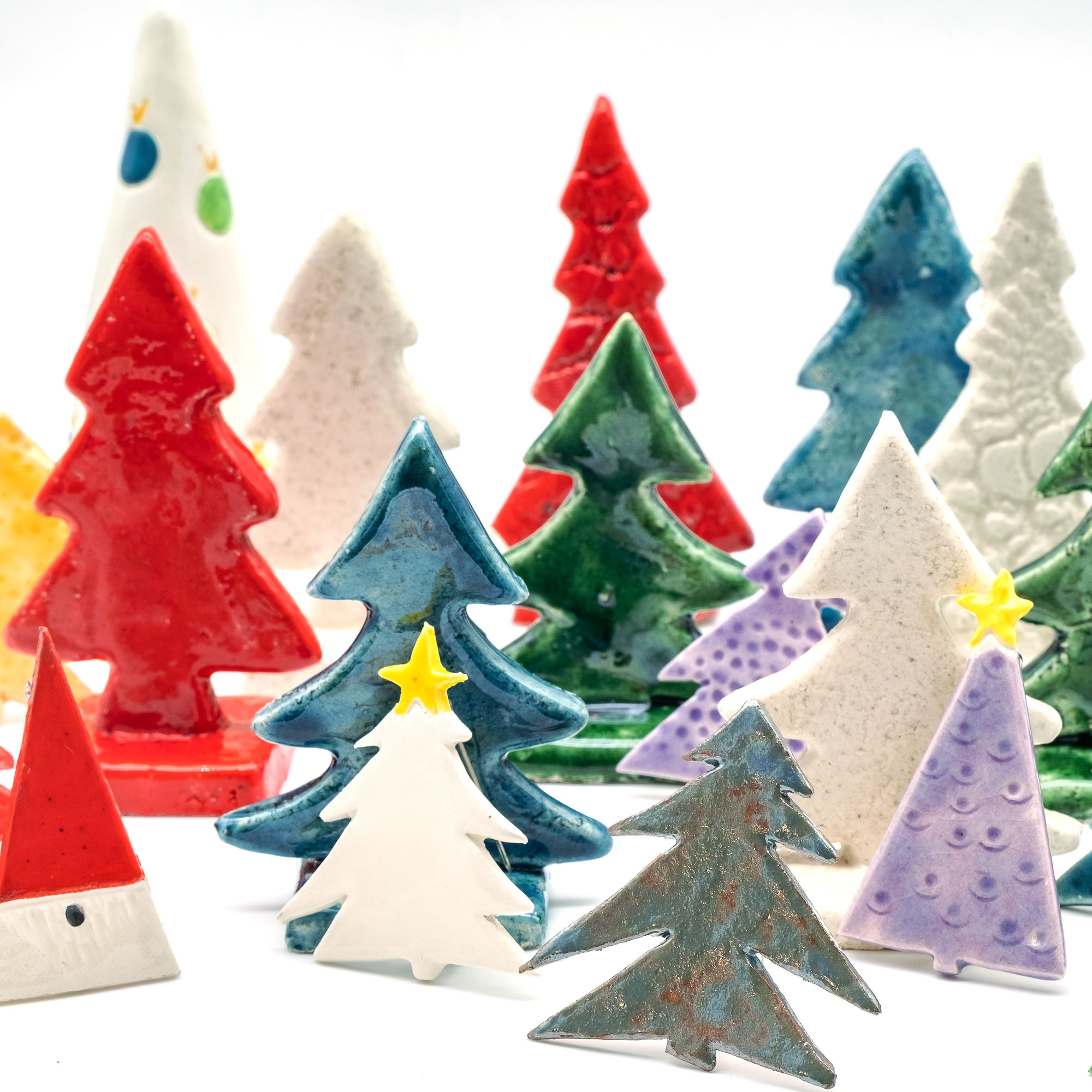 Alberi di Natale in Ceramica - Stefania Mairano Creazioni in Ceramica