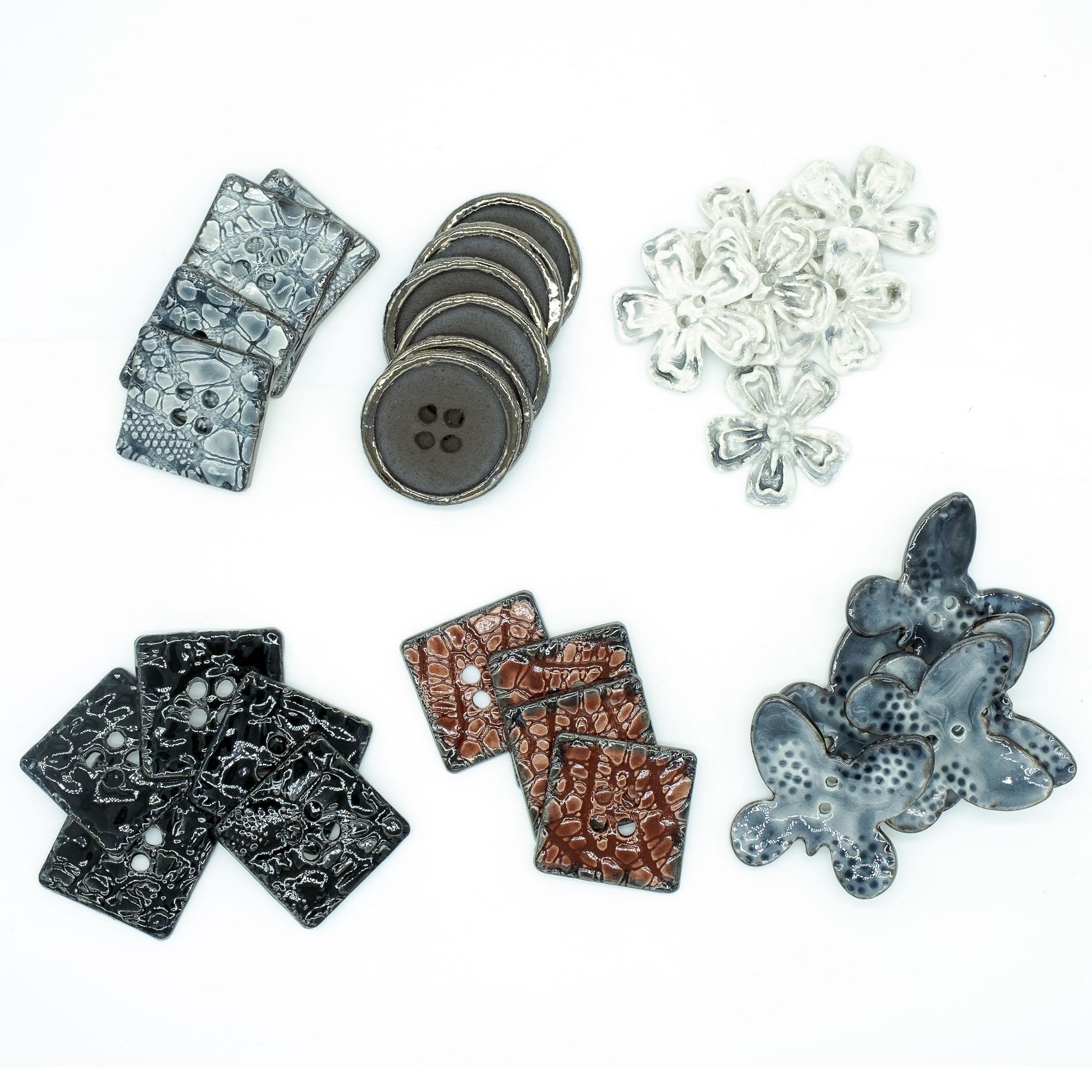 Bottoni - Stefania Mairano Creazioni in Ceramica